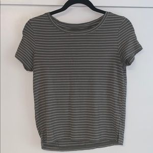 aerie cropped tee